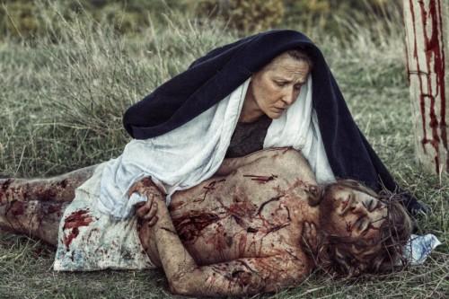 Дева Мария с телом Иисуса