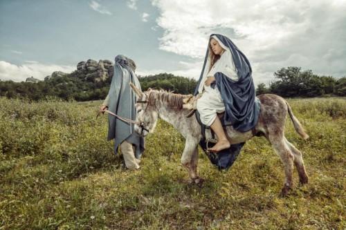 Дева Мария и Иосиф