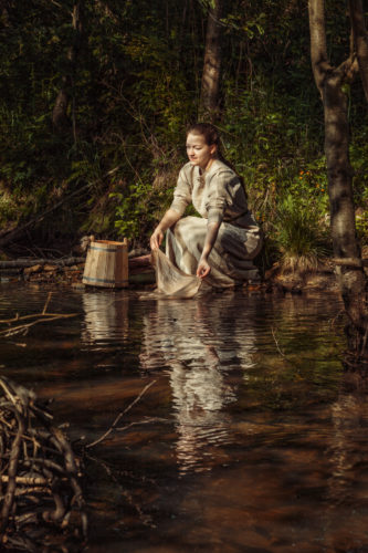 Выставка Александры Благининой
